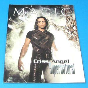 Stan Allen's Magic Magazine Oct 2003 Criss Angel