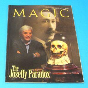 Stan Allen's Magic Magazine Sept 1999 John Gaughan
