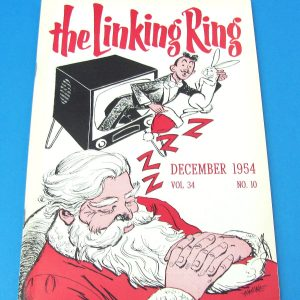 Linking Ring Magazine Dec 1954
