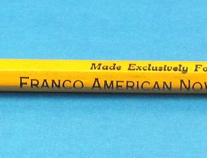 Franco American Novelty Company Double Ended Pencil