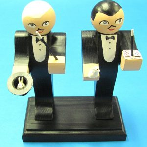Magician Salt and Pepper Shakers