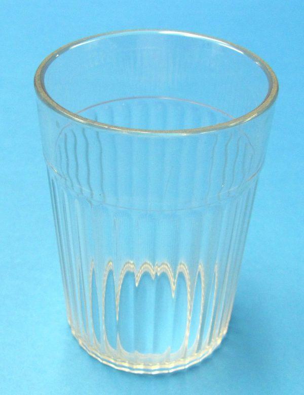 Plastic Bottomless Glass
