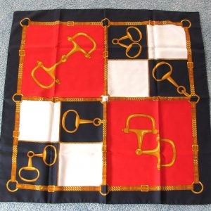 30 Inch Decorative Scarf (Belts and Handcuff-Like Pattern)