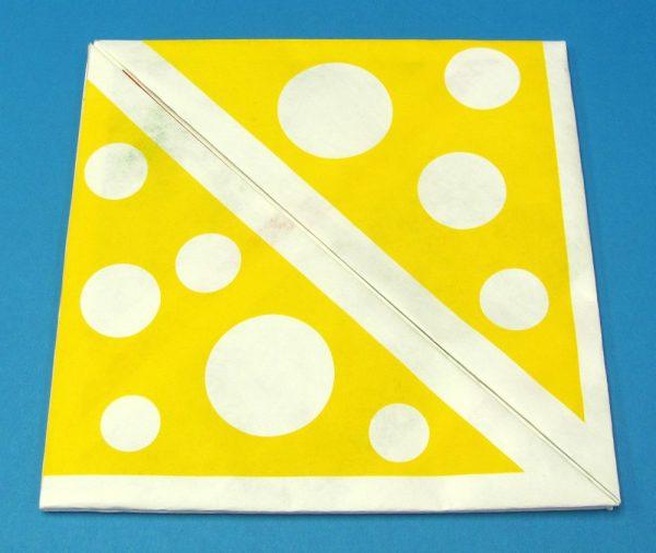 Bongo Hat - Yellow With White Circles