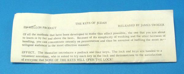 The Keys of Judah-2