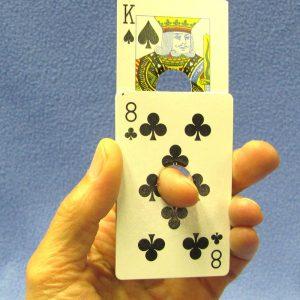 Card Through Finger