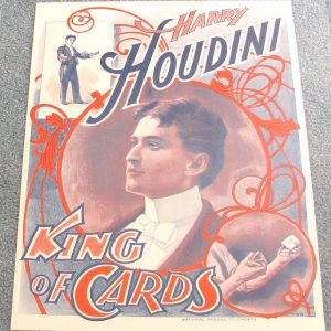 Houdini Poster - King of Cards