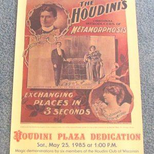 Houdini Poster - Metamorphosis