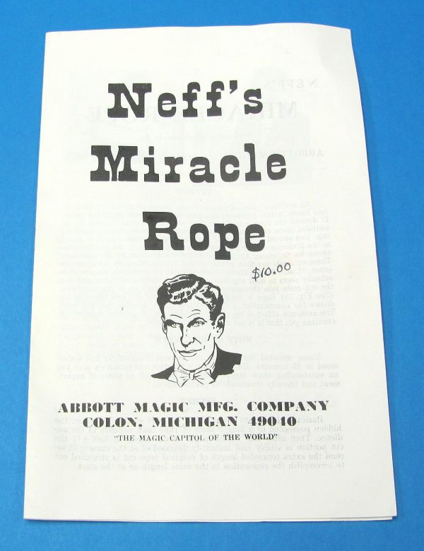 Neff's Miracle Rope Instructions