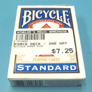 One-Way-Force-Deck-Bicycle-Blue-Back