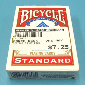 One-Way-Force-Deck-Bicycle-Red-Back