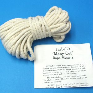 Tarbell's Many-Cut Rope Mystery