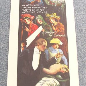 Carter Poster - Sawing a Woman in Half