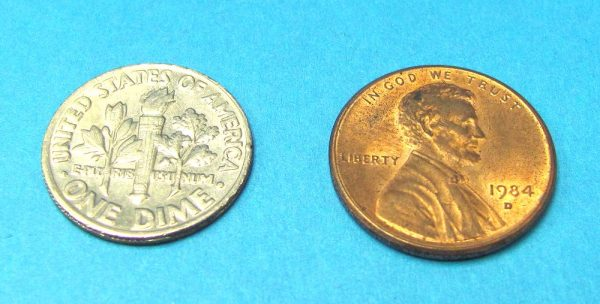 Dime and Penny (Non Locking)