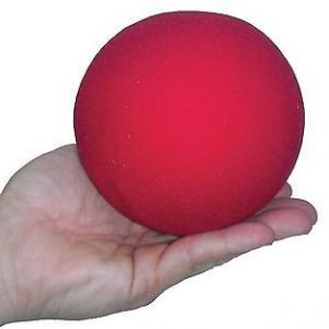Sponge Ball - 4 Inch Red - Super Soft
