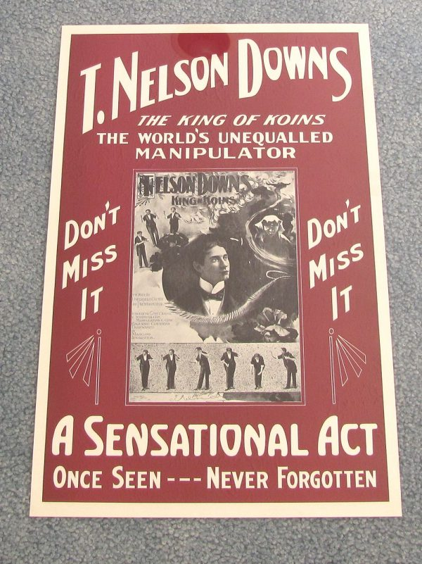 T. Nelson Downs Poster