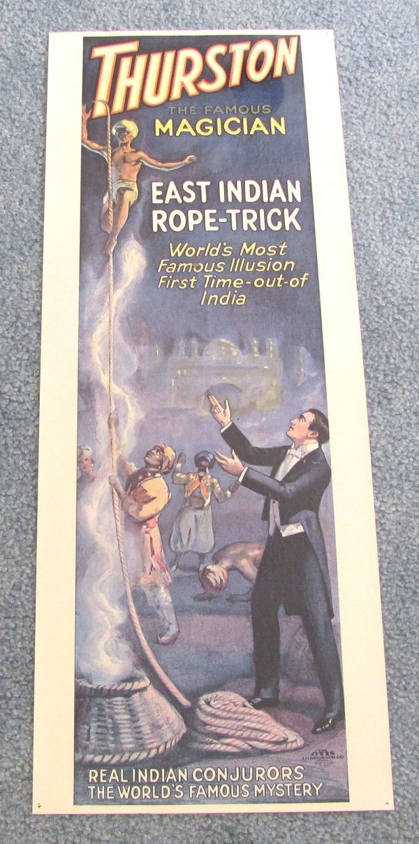 Thurston Poster - East Indian Rope Trick (Pre-Owned)