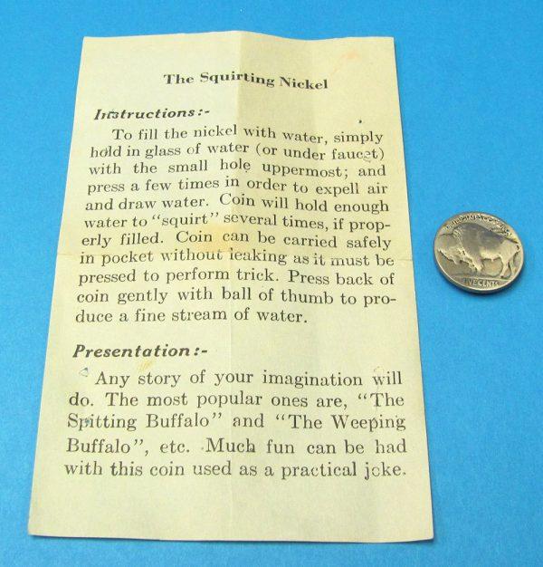 Vintage Squirting Buffalo Joke