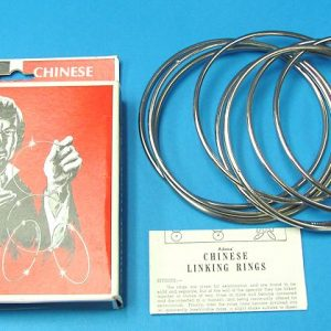 Adams' Chinese Linking Rings (5 Inch)
