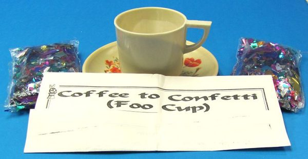 Coffee to Confetti Foo Cup