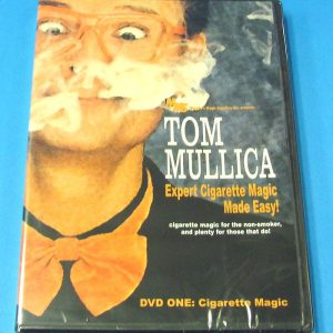 Expert Cigarette Magic Made Easy Vol 1 DVD (Tom Mullica)