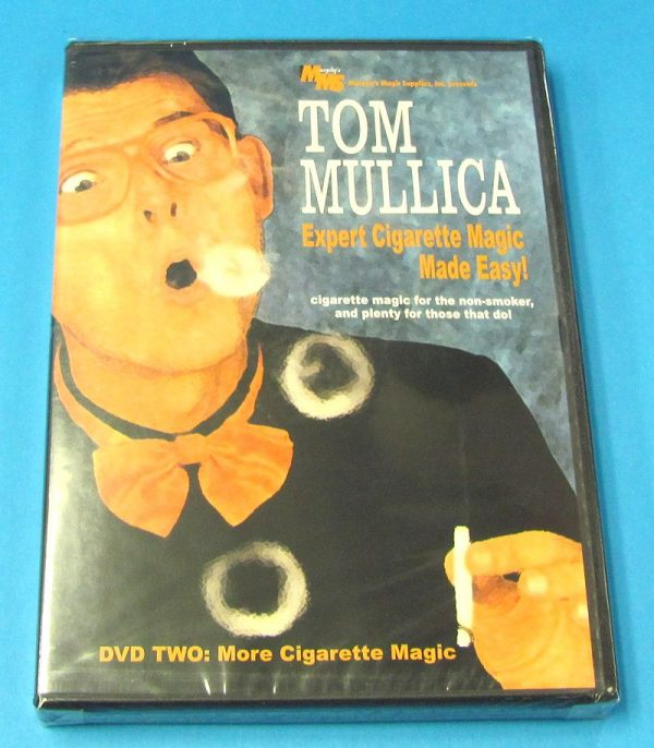 Expert Cigarette Magic Made Easy Vol 2 DVD (Tom Mullica)