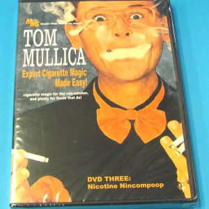 Expert Cigarette Magic Made Easy Vol 3 DVD (Tom Mullica)