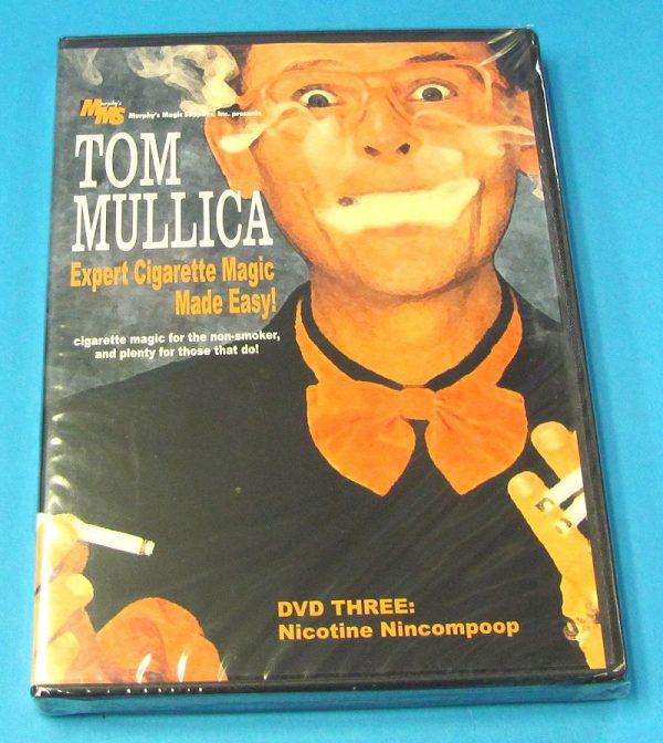 Expert Cigarette Magic Made Easy Vol 3 DVD (Tom Mullica)