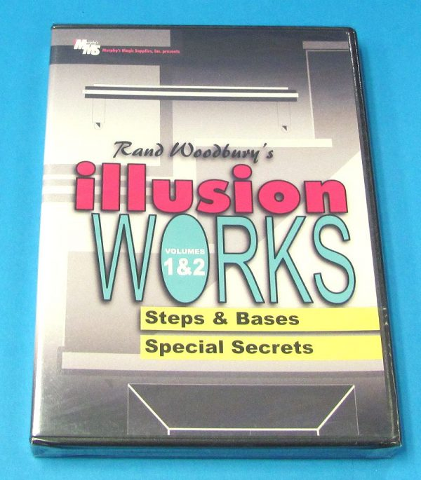 Illusion Works Volumes 1 and 2 DVD (Rand Woodbury)