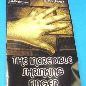 Incredible Shrinking Finger