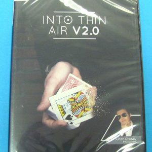 Into Thin Air 2.0 Red (DVD and Gimmick) by Sultan Orazaly