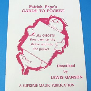 Patrick Page's Cards to Pocket (Book)
