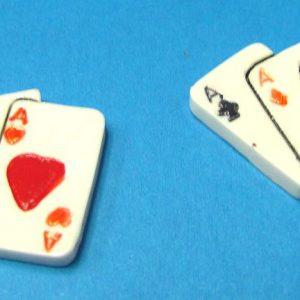 Plastic Fan of Aces (Pair)