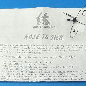 Rose to Silk (Tannen)
