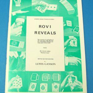 Rovi Reveals (Book) by Lewis Ganson