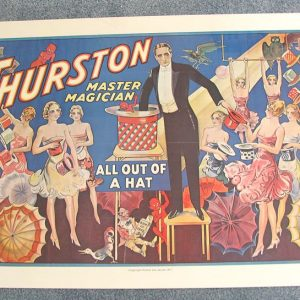 Thurston All Out of a Hat Poster (Used)