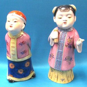 Pair of Chinese Figures