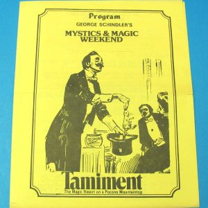Tamiment Magic Convention (George Schindler)