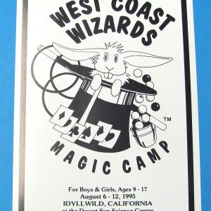 West Coast Wizard's Magic Camp Advertisement