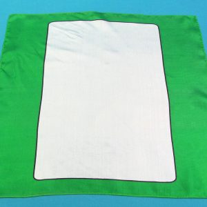 Green Blank Card Silk