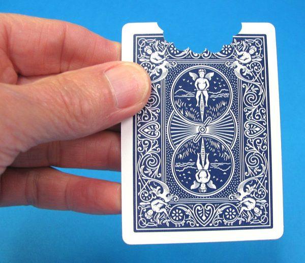 Biting Through A Card