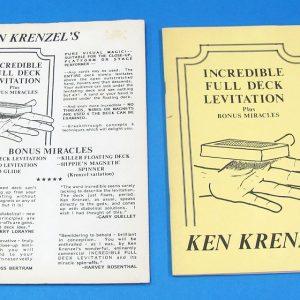 Incredible Full Deck Levitation (Ken Krenzel)