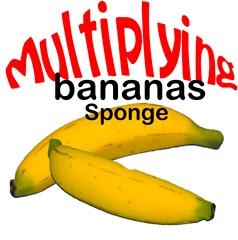 Multiplying Sponge Banana Set