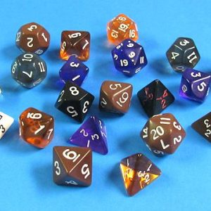 20 Different Multi-Sided Odd Shaped Dice