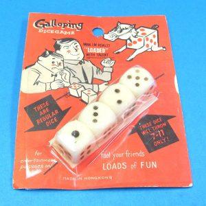 Galloping Dice Game (Vintage)