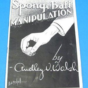 Sponge Ball Manipulation - Black and White Covers