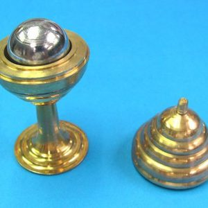 Brass Vase and Steel Ball Mystery