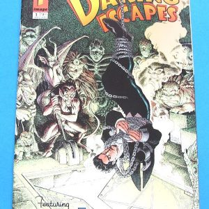 Daring Escapes Comic (Hanging Upside Down)