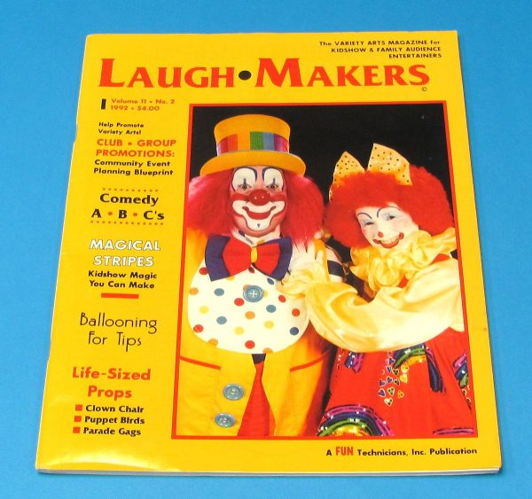 Laugh Makers Magazine (Volume 11, Number 2, 1992)