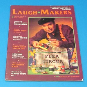 Laugh Makers Magazine (Volume 13, Number 5, 1995)